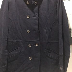 Coldwater Creek Jackets & Coats - Coldwater  Creek women's pea coat size XL/18 Navy